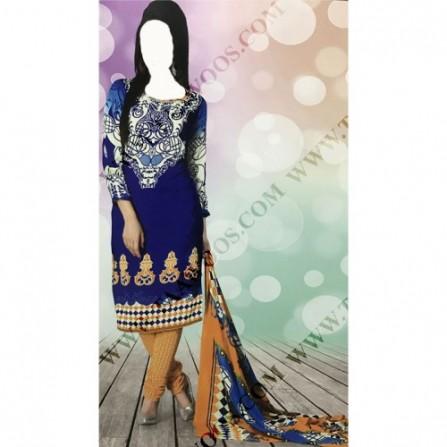 خرید لباس هندی نیمه آماده (ندوخته)
