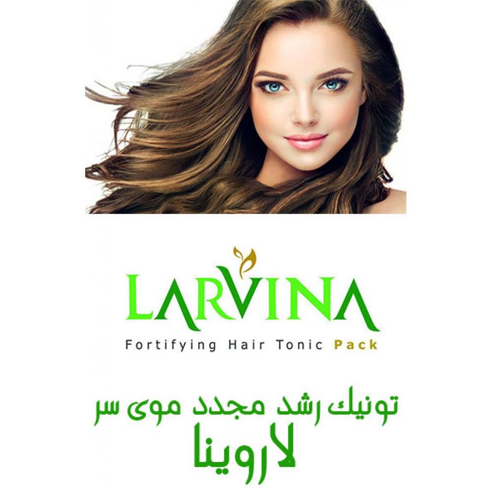 محلول رویش مو لاروینا