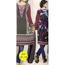 خرید لباس هندی نیم دوخت