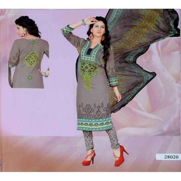 خرید لباس هندی نخی و مجلسی (نیمه آماده)