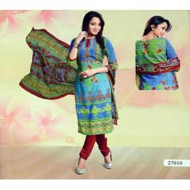خرید لباس هندی نخی و مجلسی (نیمه آماده)..